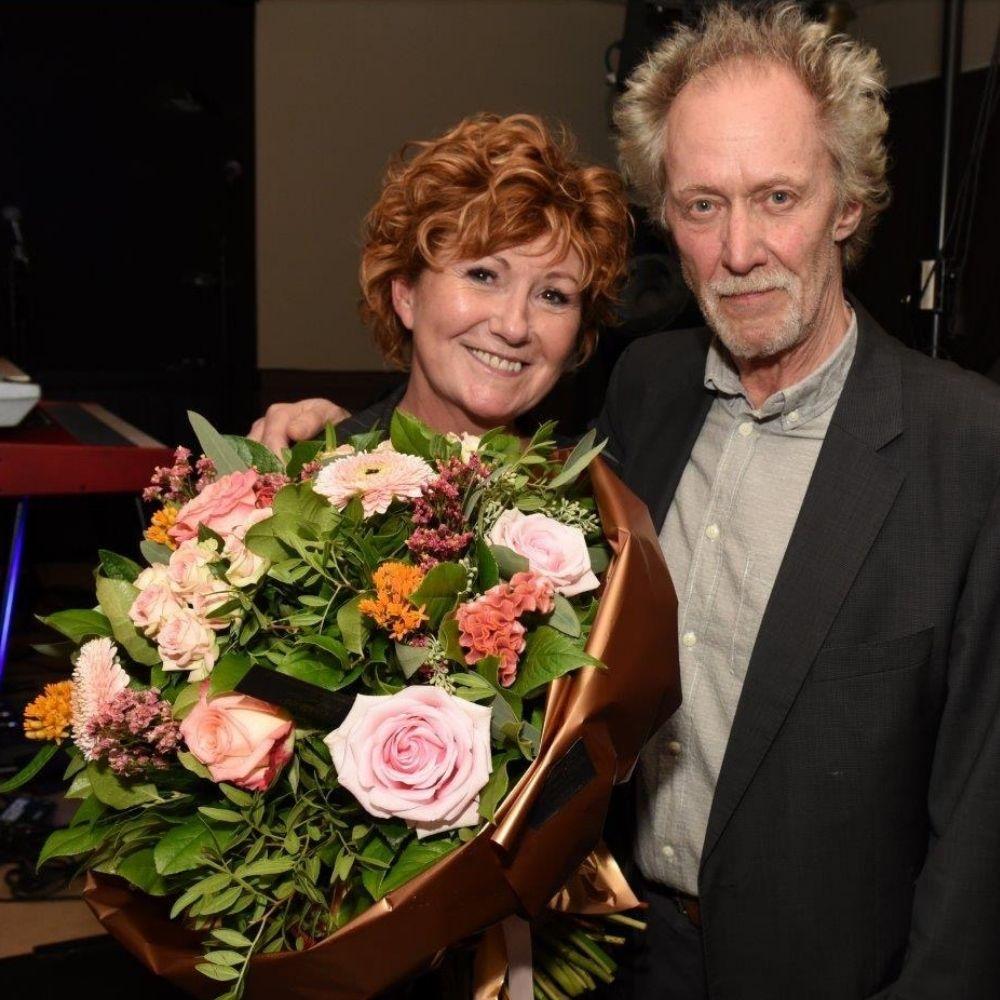 """Met Kris de Bruyne tijdens de release van """"Zandloper"""""""