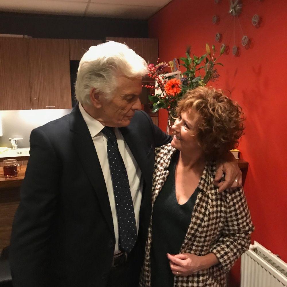 Met Ben Cramer op Rita Hovink Gala